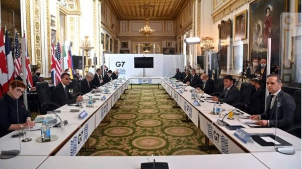 In a joint statement released on Wednesday, representatives from the G7, which includes Canada, France, Germany, Italy, Japan, the United Kingdom, and the United States, underscored
