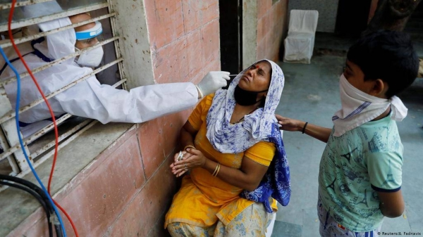 Indian authorities also reported 3,915 COVID-19-related deaths, making Friday the 10th day in a row the daily number of fatalities has exceeded 3,000. — Courtesy file photo