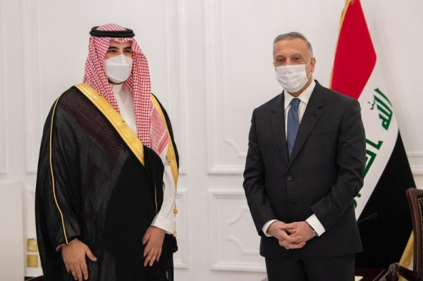 Prince Khalid seeks to consolidate bilateral relations during Iraq visit