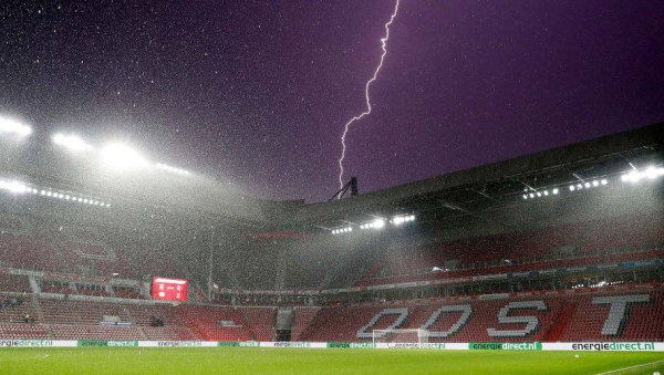 A nine-year-old boy died in the English city of Blackpool on Tuesday after being struck by lightning. — Courtesy file photo