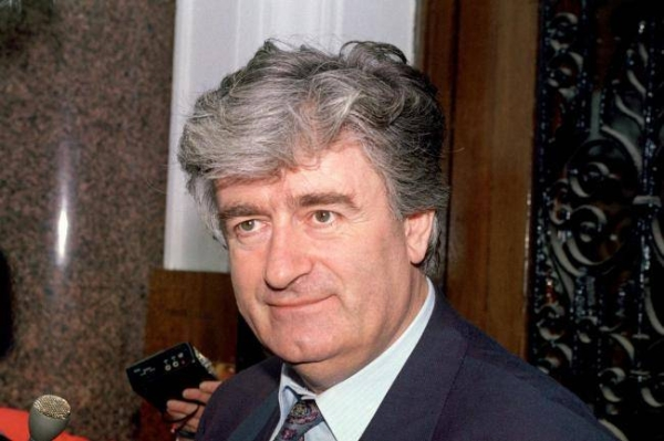 Bosnian Serb war criminal Radovan Karadzic will serve the rest of his life sentence for genocide in UK prison, the British government revealed on Wednesday. — Courtesy file photo