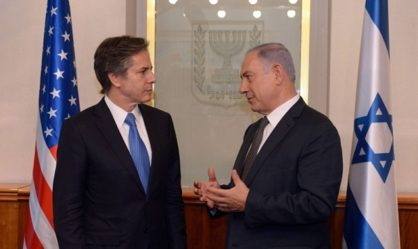US Secretary of State Antony Blinken spoke to Israeli Prime Minister Benjamin Netanyahu by telephone on Wednesday. — Courtesy file photo