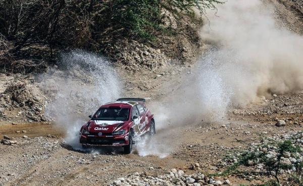 Meshari Al-Thefiri in action in Jordan in 2019.