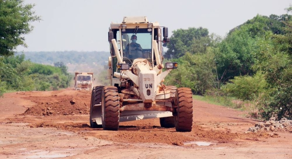 The UN Mission in South Sudan (UNMISS) has rehabilitated thousands of kilometers of roads in the country (file photo). — courtesy UNMISS/Emmanuel Kele