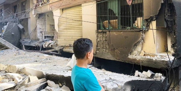 Homes have been shelled in Gaza as hostilities between Israelis and Palestinians continue. — courtesy UNOCHA