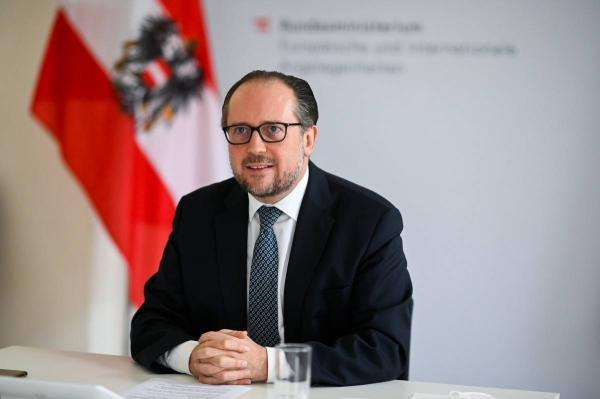 Austrian Foreign Minister Alexander Schallenberg.