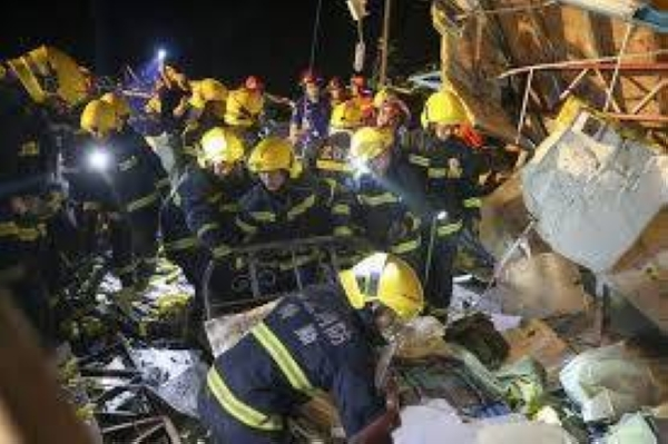 Eight people died in the inland city of Wuhan on Friday night and four others in the town of Shengze, about 400 km east in Jiangsu province, local governments said. — Courtesy photo