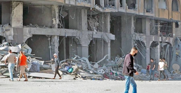 Escalated hostilities in the Gaza Strip have resulted in further casualties and large-scale displacement, 12 May 2021. — courtesy OCHA