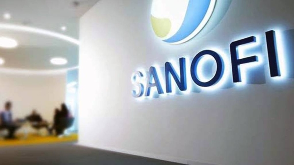 The French pharmaceutical company Sanofi reported positive results from a trial of its COVID-19 vaccine on Monday, which has been hit by several months of delays.