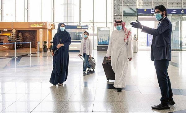 Prince Mohammed Bin Abdulaziz International Airport in Madinah has completed its preparations, in accordance with health controls and requirements and an updated guide for health procedures by the General Authority of Civil Aviation (GACA), to allow citizens to travel outside the Kingdom of Saudi Arabia and return to it, starting Monday.