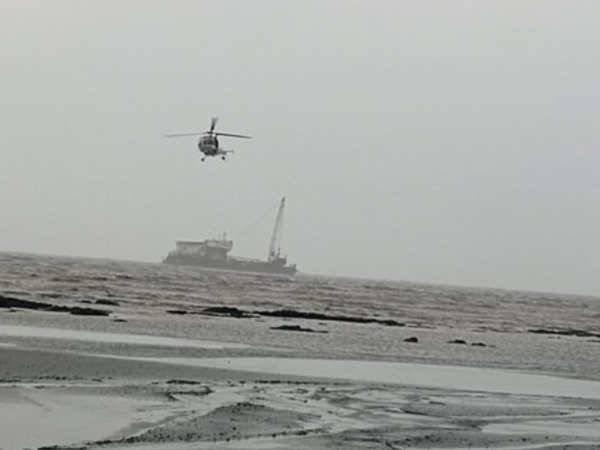 The Indian Navy is continuing search and rescue operations for a third day after a deadly cyclone left scores missing and stranded at sea. — Courtesy photo