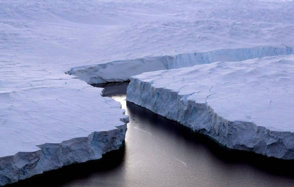The world's largest iceberg has calved from Antarctica over the past few days, a giant floating piece of ice close to 80 times the size of Manhattan. — Courtesy file photo
