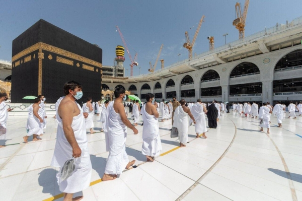 Hajj that usually sees over 2.5 million Muslims travel to Makkah was curtailed last year for the first time in modern history to allow just 1,000 pilgrims to take part due to COVID-19.