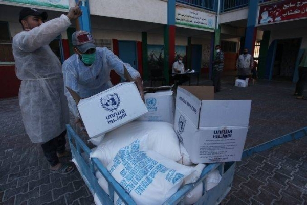 The UK support comes as UNRWA launched on Wednesday an emergency appeal calling for urgent support to meet immediate humanitarian needs. — Courtesy file photo