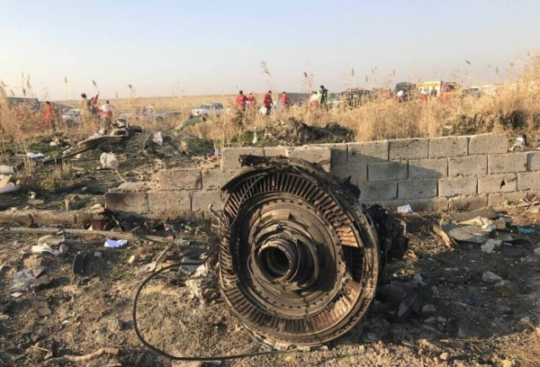 The shooting down of Ukrainian Airlines Flight PS752 by Iran on Jan. 8, 2020, was deliberate, ruled Ontario's Superior Court of Justice on Thursday. — Courtesy file photo