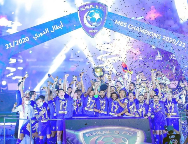 Al-Hilal retained the Saudi Pro League title with a 3-2 win over Al-Faisaly, extending their own record of championships to 17 and leaving their fans celebrating across the Kingdom into the early hours of Monday morning.