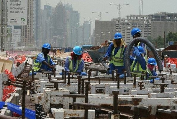 The UAE's Ministry of Human Resources and Emiratisation will begin implementing the ban on works performed under the sun and in open places from 12:30 p.m. to 3:00 p.m., beginning from June 15 until Sept. 15. — Courtesy file photo