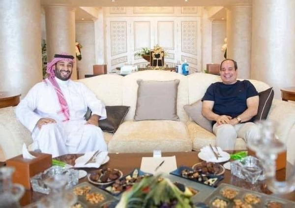 Crown Prince Muhammad Bin Salman, deputy premier and minister of defense, met with Egypt's President Abdel Fattah El-Sisi in Sharm Al-Sheikh on Friday.