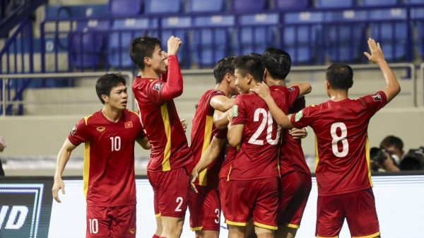 Vietnam secured a hard fought 2-1 win against Malaysia on Friday to stay top of Group G of the Asian Qualifiers for the FIFA World Cup Qatar 2022 and AFC Asian Cup China 2023. — Courtesy photo