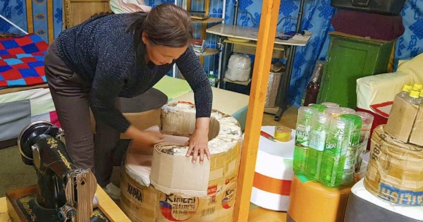 Women sort plastic at a recycling plant in Jordan. — courtesy UNDP/Sumaya Agha