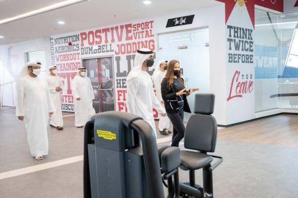 Sheikh Hamdan Bin Mohamed Bin Zayed Al Nahyan Sunday inaugurated the largest sports venue in the UAE capital at the Mubadala Sports Centre in Al Bahia.