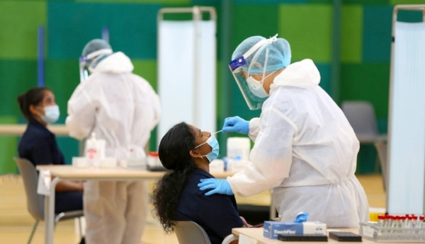 w COVID-19 cases in the United Arab Emirates surged past the 2,000-mark again on Tuesday, with 2,127 new infections recorded over the past 24 hours. — WAM file photo