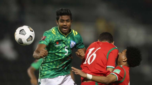 Oman defeated Bangladesh 3-0 in Group E of the Asian Qualifiers for the FIFA World Cup Qatar 2022 and AFC Asian Cup China 2023 on Tuesday. — Courtesy photo