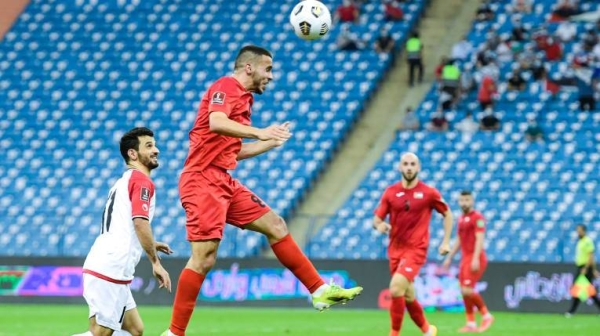 Oday Dabbagh's brace helped Palestine record an emphatic 3-0 win over Yemen to conclude their campaign in third place of Group D of the Asian Qualifiers for the FIFA World Cup Qatar 2022 and AFC Asian Cup 2023 on Tuesday. — Courtesy photo