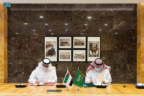 The MoU was signed by President of the General Authority for Civil Aviation (GACA) Abdulaziz Al-Duailej and Director-General of General Civil Aviation Authority of the UAE Saif Mohammed Al-Suwaidi here on Tuesday.