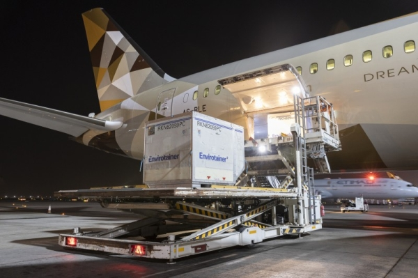 With the arrival of the first shipment on Tuesday, Abu Dhabi becomes the first city in the world to receive this drug, the UAE's official news agency WAM reported.