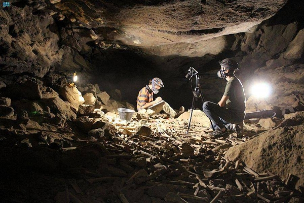 Heritage Commission announces new 7,000-year-old discovery in Umm Jirsan Cave