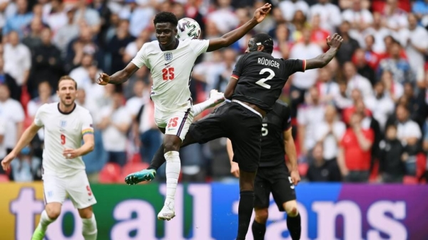 England gave Germany a lesson in ruthless finishing, converting its only two real chances of this Euro 2020 last-16 match to finally end its decades-long inferiority complex against its old, historic rival. — Courtesy photo