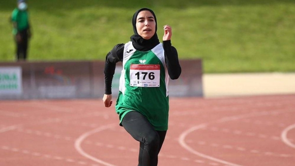Yasmeen Al-Dabbagh will be competing in the women's 100-meter race at the Tokyo  Olympics. - Worldakkam