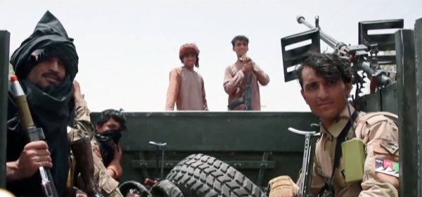 The Taliban has captured more territory in Afghanistan in recent days from fleeing Afghan forces, as NATO troops continue to pull out of the country.
