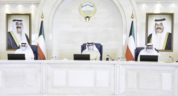 In a weekly meeting on Monday headed by Prime Minister Sheikh Sabah Khaled Al-Hamad Al-Sabah, the Kuwaiti Cabinet condemned the Houthi militia's attempt aiming to target international navigation in the Red Sea with two booby-trapped boats in Hodeida governorate, lauding the efforts of the Arab Coalition to thwart the hostile act seeking to impede the movement of navigation in this vital area. — KUNA photo