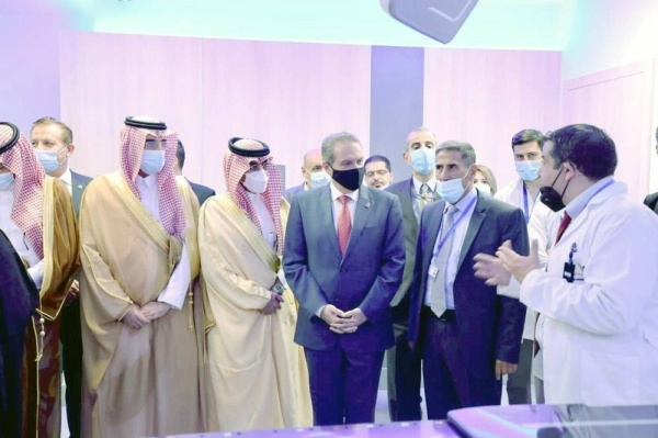 The Saudi Fund for Development (SFD) has inaugurated the Saudi Radiotherapy Center for cancer patients at King Abdullah University Hospital, in the northern city of Ar-Ramtha, Jordan.