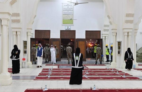 Ministry of Islamic Affairs employs female staff to serve pilgrims
