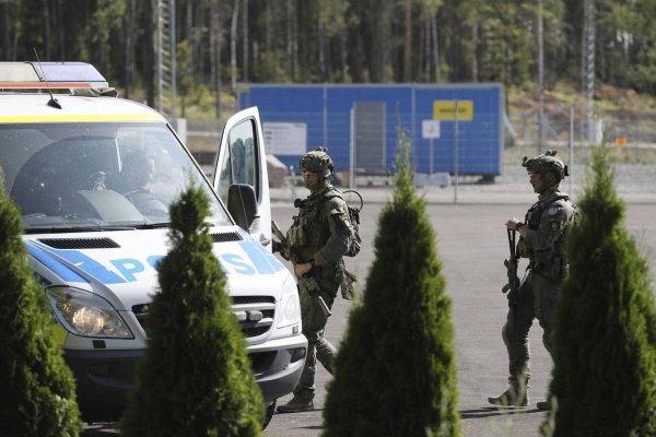 Two prison guards have been taken hostage at a penitentiary outside the Swedish city of Eskilstuna by two men convicted of serious crimes. — Courtesy photo