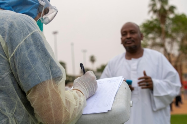 Active cases fall again as KSA records1,162 new infections, 1,386 recoveries