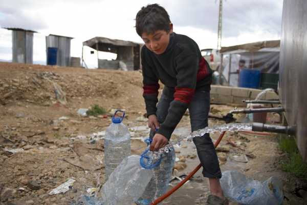 Lebanon's water supply system is on the verge of total collapse, according to the United Nations Children's Fund (UNICEF), in what would mark the latest development in the eastern Mediterranean country's slide into chaos. — Courtesy file photo