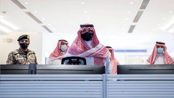Minister of Interior Prince Abdulaziz Bin Saud Bin Naif