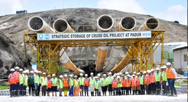 The expansion of India's strategic petroleum reserves into its second phase envisages new facilities at Chandikhol in Odisha state with 4 MMT capacity and another at Padur in Karnataka state with 2.5 MMT capacity. — Courtesy file photo