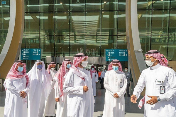 This was revealed during an inspection tour of Al-Qurayyat train station by Al-Jouf Emir Prince Faisal Bin Nawaf on Monday.