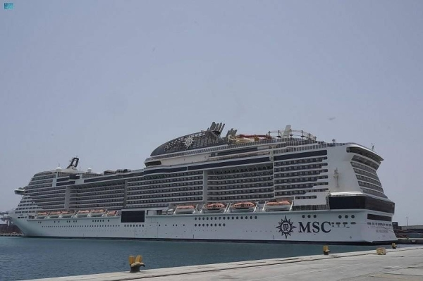 First cruise ship terminal at Jeddah Islamic Port inaugurated to accommodate 2,500 passengers