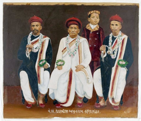 An untitled Gujarati family portrait is among the 14 items set to be returned. — courtesy National Gallery of Australia.