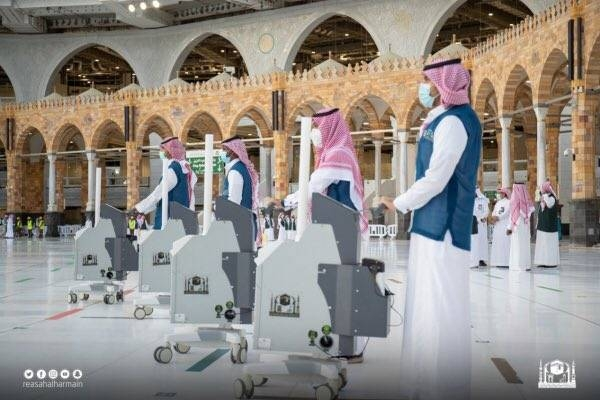 Grand Mosque being sterilized round the clock to receive Umrah performers