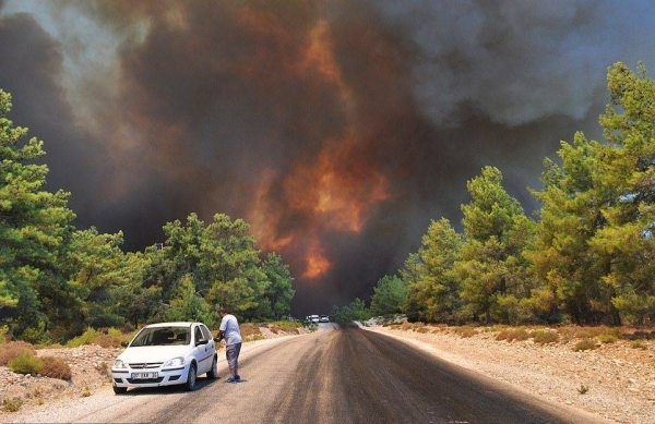 The European Union has sent three firefighting planes to Turkey as the country continues to battle blazes that have claimed the lives of at least eight people. — Courtesy file photo