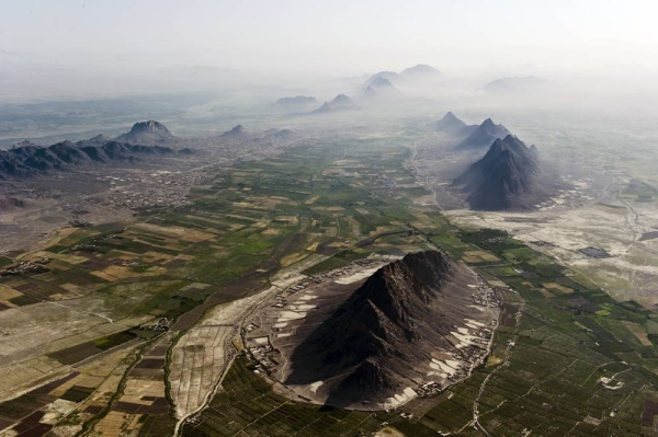 File photo of Arghandab River Valley between Kandahar and Lashkargah.