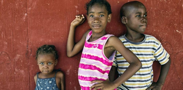 File photo shows children living in a displaced persons camp in Haiti. — courtesy UN Photo/Logan Abassi