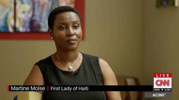Haiti's first lady Martine Moise